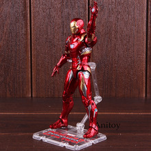 Captain American Civil War Iron Man Figure Action PVC Marvel Avengers Toys Figure Collectible Model Toy 17.5cm