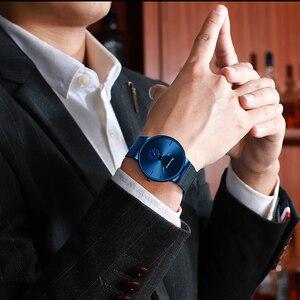 Image 5 - Readeel שעון גברים אופנה ספורט קוורץ שעון שעון Mens שעונים יוקרה מקרית מלא פלדה עמיד למים שעוני יד Relogio Masculino