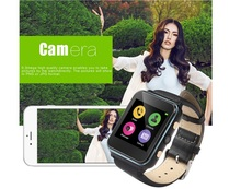 I400 smart watch Intelligent GSM Alarm Clock Camera Phone with Activity Reminder Sleep Heart Rate Monitor for Android IOS
