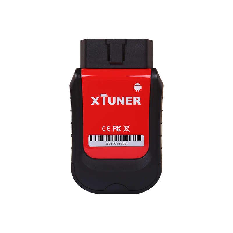 Evrensel OBD2 için Araç Teşhis Aracı XTUNER X500 VPecker Otomatik Teşhis aracı xtruner Motor, ABS, Pil, DPF, EPB, Yağ, TPMS, IMMO