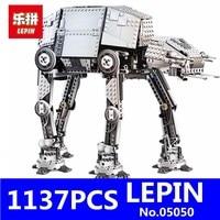 NEW LEPIN 05050 1137Pcs MOTORIZED WALKING AT AT Robot Model Building Blocks Brick Classic Compatible 10178