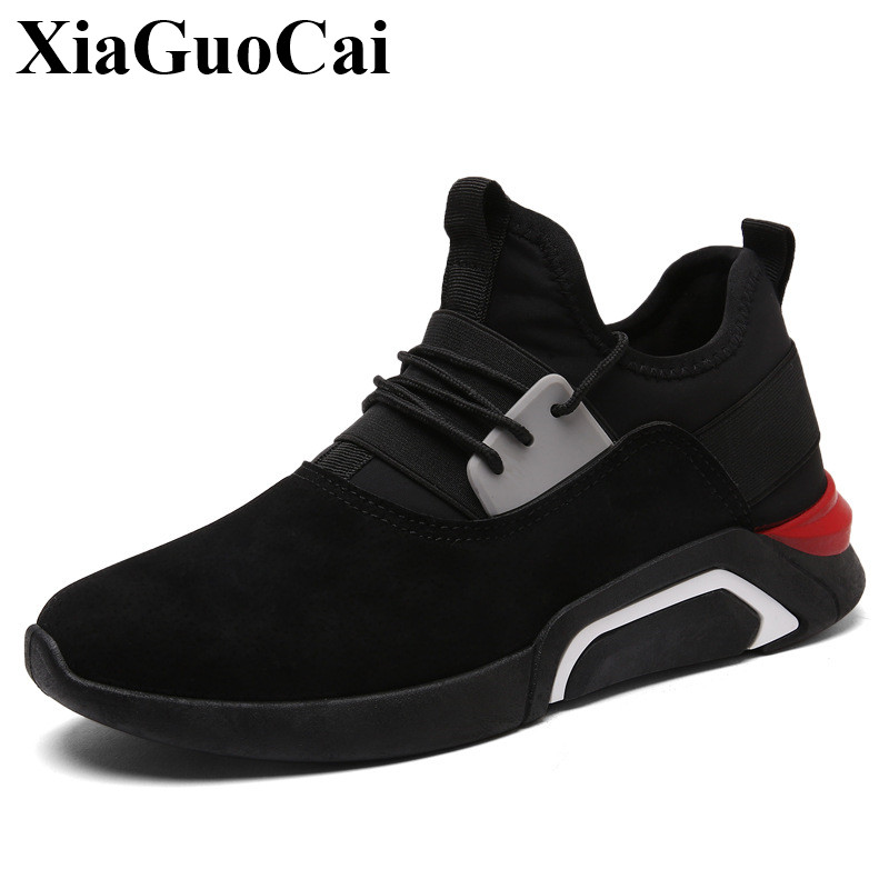 New Casual Shoes Men Sneakers Spring Summer Breathable Soft Lace-up Platform Flats Shoes Black High Quality Fashion Shoes H693 mens trainers men shoes brand lace up spring summer fashion shoes with flat breathable sport platform casual shoes woman shoes