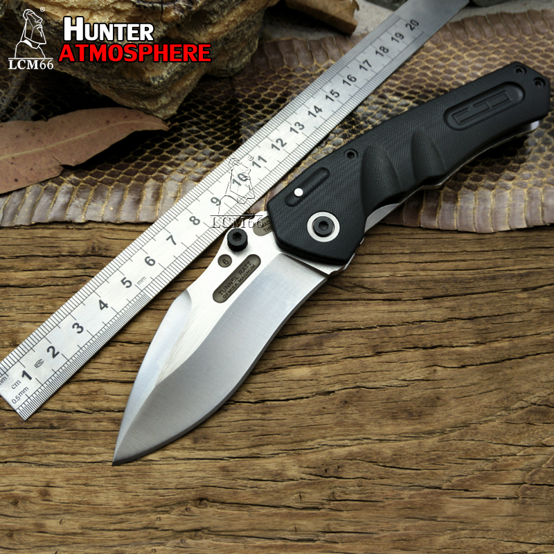LCM66 Folding Knife 9CR18MOV Blade Steel G10 Handle Tactical Hunting Knives Survival Outdoor Camping EXTREMA RATIO Tools extrema ratio mf1 full auto ex 133mf1f autodwr khaki
