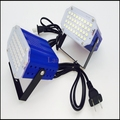 Free shipping hot sale AC90-260V 36 led White/RGB LED Stage Light DJ Disco Strobe Flash Light EU/US Plug  for family Party KTV