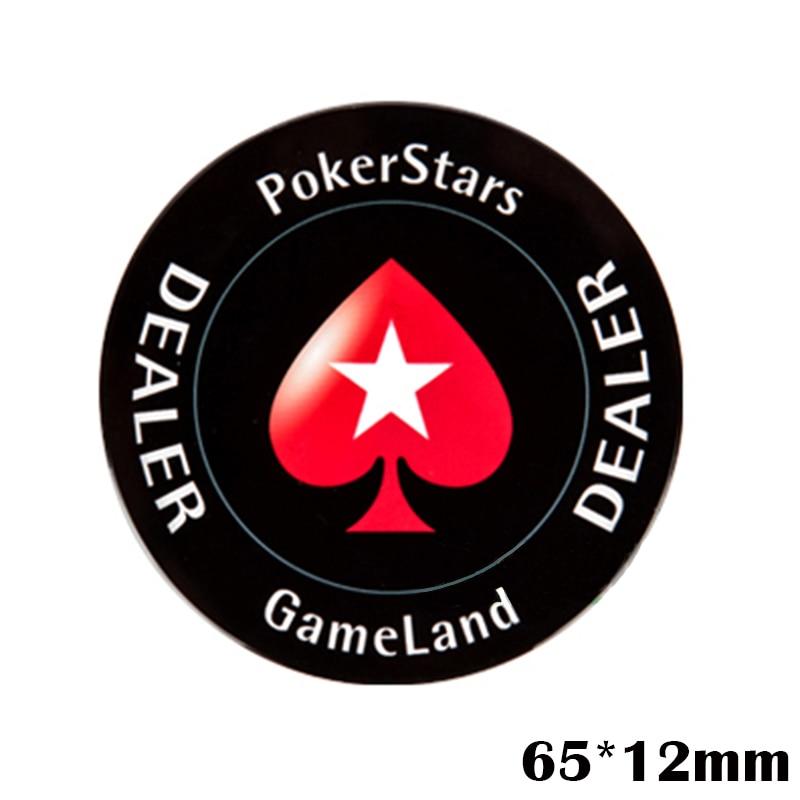 Crystal PokerStars Poker Çip Satıcı Düyməsi BÜTÜN düymə - Əyləncələr - Fotoqrafiya 2