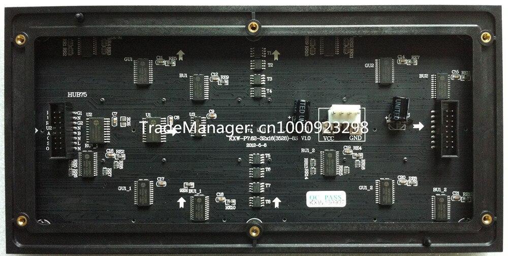 P7.62 beltéri SMD 3in1 teljes színű LED panel modul 1 / 8scan - - LED Világítás - Fénykép 2