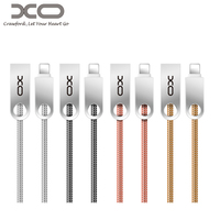 XO Metal Spring USB Cable Charging Micro USB Cord Phone Cables For Android Ios Apple IPhone