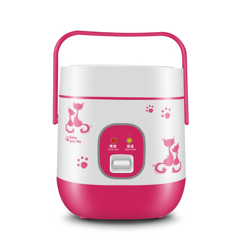 DMWD 1.2L Mini Rice Cooker Multi Cooker Keep Warm Soup Porridge Rice Maker For Student Dormitory Household 1-2 People 220V oushiba 1l mini rice cooker electric rice cooker auto rice cooker with cute cat pattern for rice soup porridge steamed egg