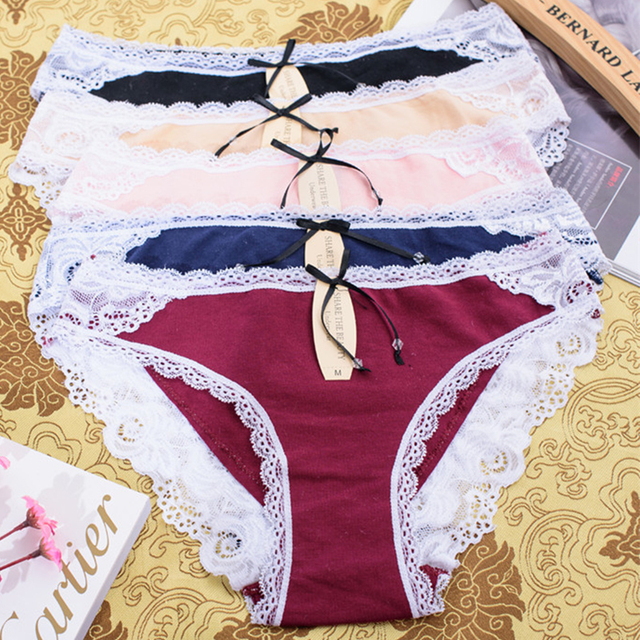 c64693efae5f sexy lace guaze women underwear top quality brand briefs 2019 ladies under  panties woman g string hipster thong pants