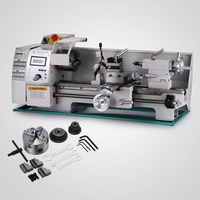400mm (15 3/4) processing distance Variable Speed Lathe 50 to 2500 RPM Metal Processing Metal Lathe 8x16 Inch