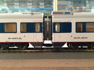Image 4 - 6 adet/grup 1: 87 ölçekli tren mimari çoğaltıcı avrupa PIKO 56042 model trenler DIY kanca