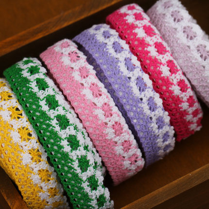 071326 creative handmade accessories hollow cotton tape album high-end DIY indispensable tools free shipping