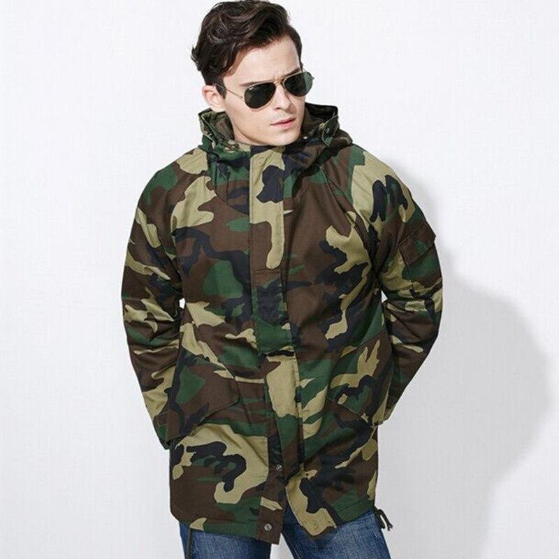 Здесь можно купить  Jungle Camouflage training outdoor winter coat male camouflage overcoat cotton coat thick city male cold cold cotton  Спорт и развлечения