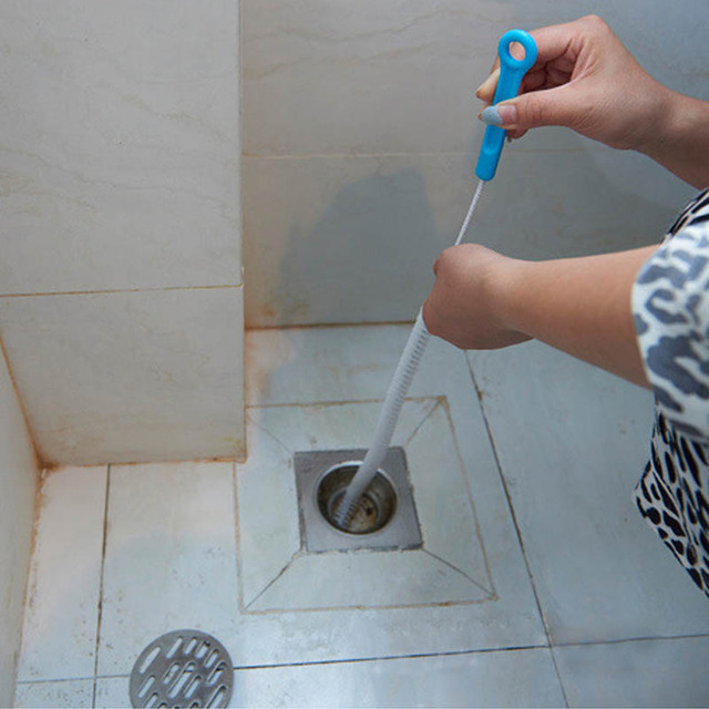 Flexible Sink Overflow Drain Unblocker Cleaning Brush Cleaner ...