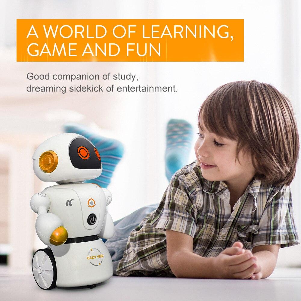 JJR/C RC Spielzeug für Kinder R6 CADY WIGI Intelligente Roboter Fernbedienung Programmierbare Linie Folgenden Labyrinth Lösung Musik dance