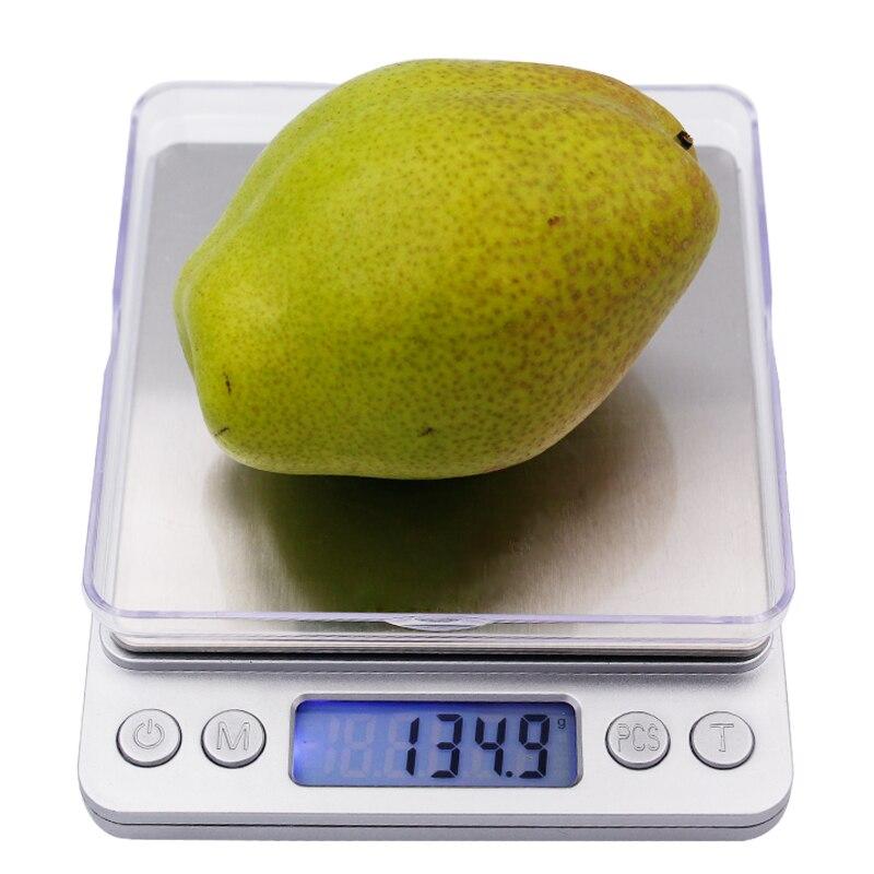 3000g 3 kg 0,1g Elektronische LCD Display Mini Digital Schmuck Waage Waage Gewicht Waagen Balance 20% off