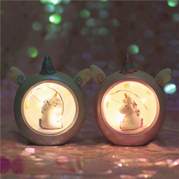 Mini Unicorn Night Light Home Decoration