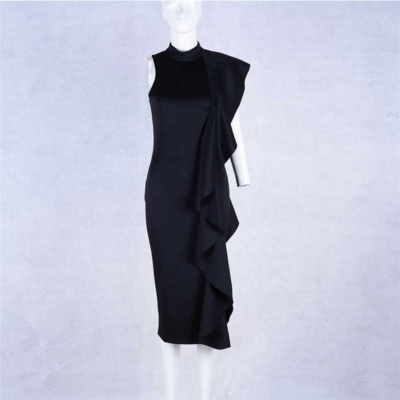 Бандажное гофрированное обвязанное платье без рукавов элегантное облегающее вечерние платья Vestidos одежда для ночного клуба летние платья de fiesta