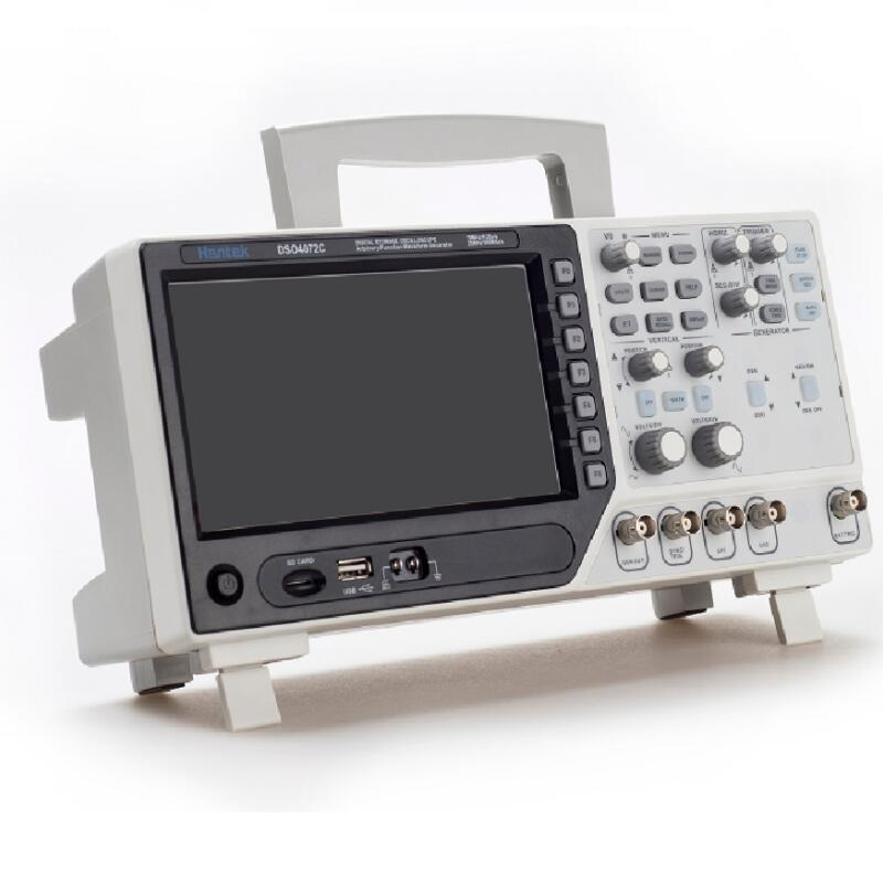 DSO4202C DSO4102C 2 Channel Digital Oscilloscope 1 Channel Arbitrary/Function Waveform Generator 200MHz 40K 1GS/s DSO4072C