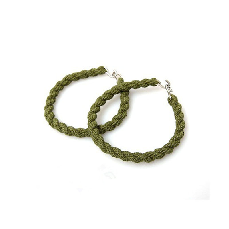 2pcs EDC Outdoor Camping Leggings Rope Belt Gaiter Rubber String Jungle Army Green Beam Belt Field Army Boots