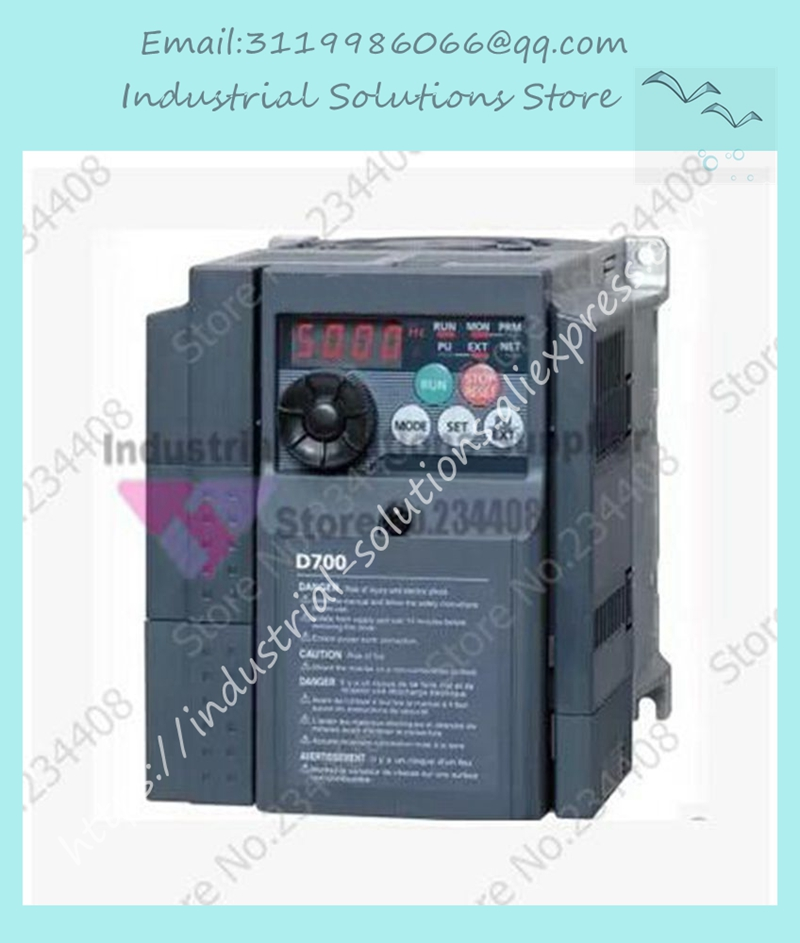 Input 3 ph 220V Output 3 ph Frequency Converter Inverter FR-D720-3.7K 200~240V 16.5A 3.7KW 0.2~400Hz NewInput 3 ph 220V Output 3 ph Frequency Converter Inverter FR-D720-3.7K 200~240V 16.5A 3.7KW 0.2~400Hz New