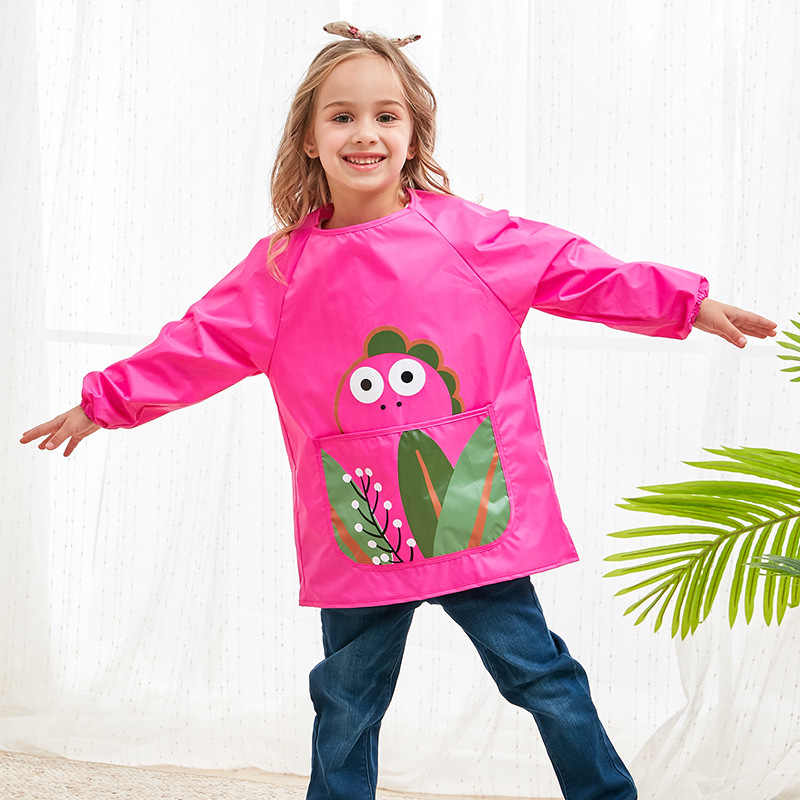 Children Waterproof A Painting Drawing Coat Costume Crafts Paint Antifouling As For Kids Kindergarten Toddlers Art