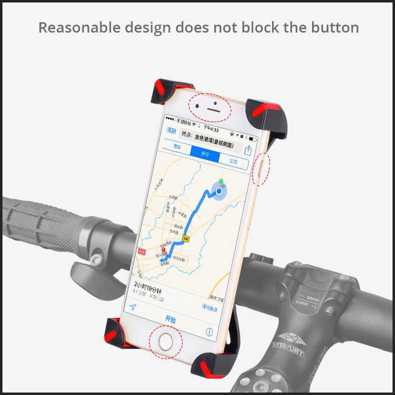 Xiaomi Mijia M365 سكوتر كهربائي/EF1 طوي Mijia Qicycle E-الدراجة سكوتر حامل هاتف المحمول حامل جزء قابل للتعديل المضادة زلة