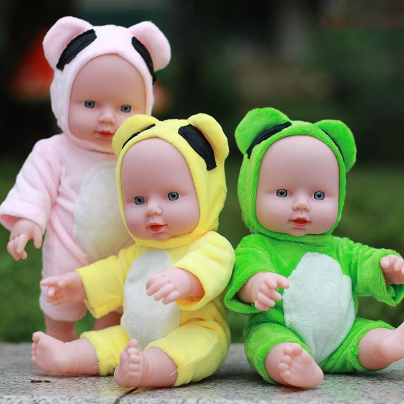 30 CM Silicone Reborn Bébé Poupées Bébé Vivant Bebe Réalistes Boneca Réaliste Vraie Fille Poupée lol Jouets pour Enfants Menina bricolage Jouets