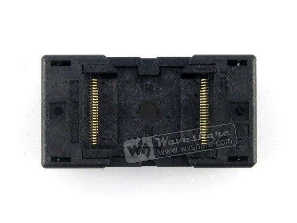 module TSOP48 TSOP 48 OTS-48-0.5-014 Enplas IC Test Burn-In Socket Programming Adapter 18.4mm Width 0.5mm Pitch import ots 28 0 65 01 burning seat tssop28 test programming