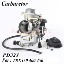 все цены на PD32J 32mm Vacuum Carburetor case for CRF TRX350 400 450 1997-2006 universal other 300cc to 450cc racing motor UTV ATV онлайн