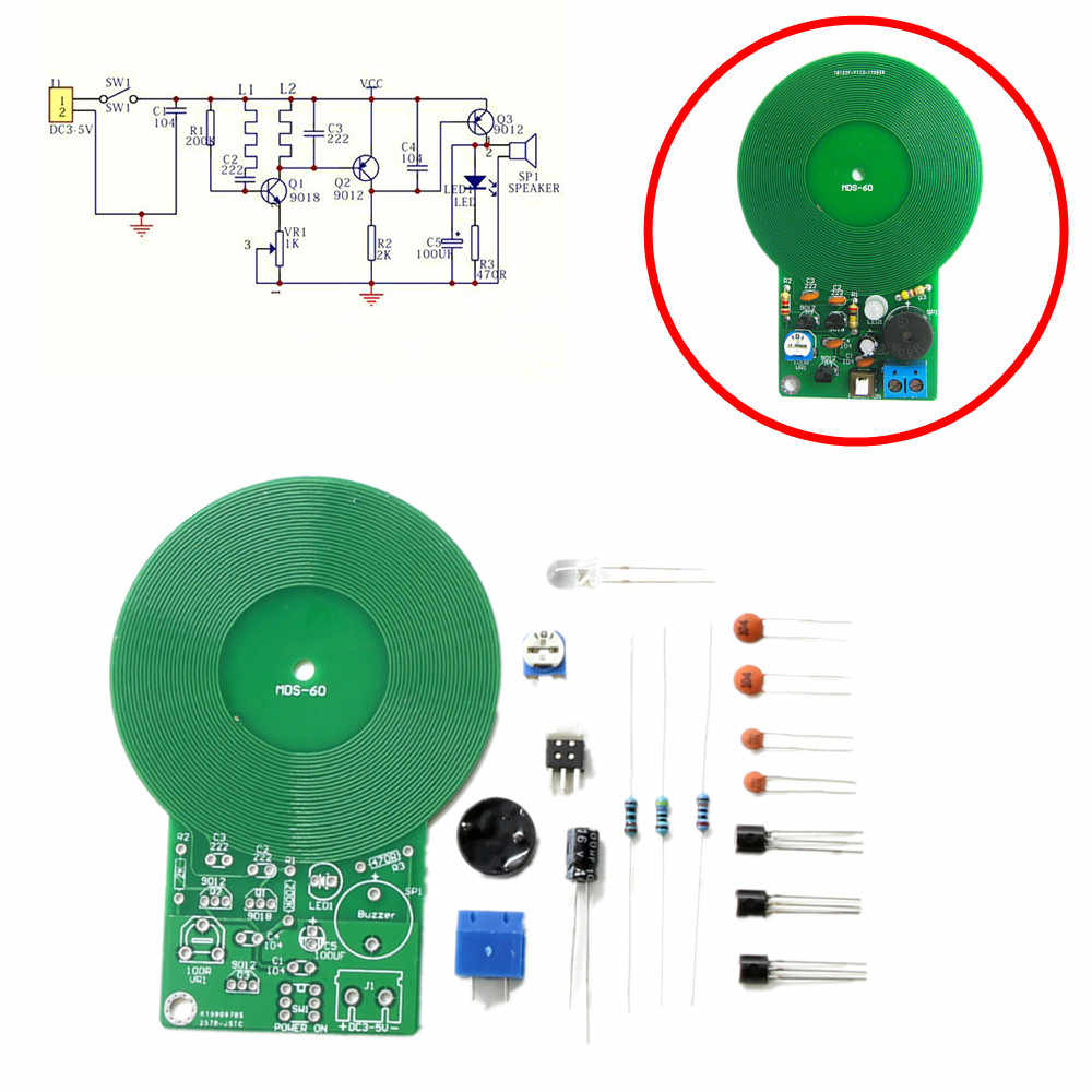 Detail Feedback Questions About Diy Kit Metal Detector Kit