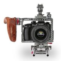 Tilta ES T37 ES T37 A Rig для Panasonic GH4 GH5 Камера 6 K установка клеть Поддержка 15 мм Род опорная плита деревянной ручкой триггер Бесплатная доставка