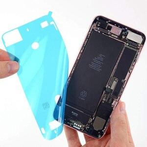 Image 3 - Tiras adhesivas de pantalla precortadas, impermeables, para iPhone 7, 7p, 8, 8 Plus, adhesivo de reparación de daños líquidos por agua