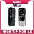 Original Unlcoked Nokia 6303 classic teléfono móvil garantía de 1 año Reformado Envío Libre Rápido
