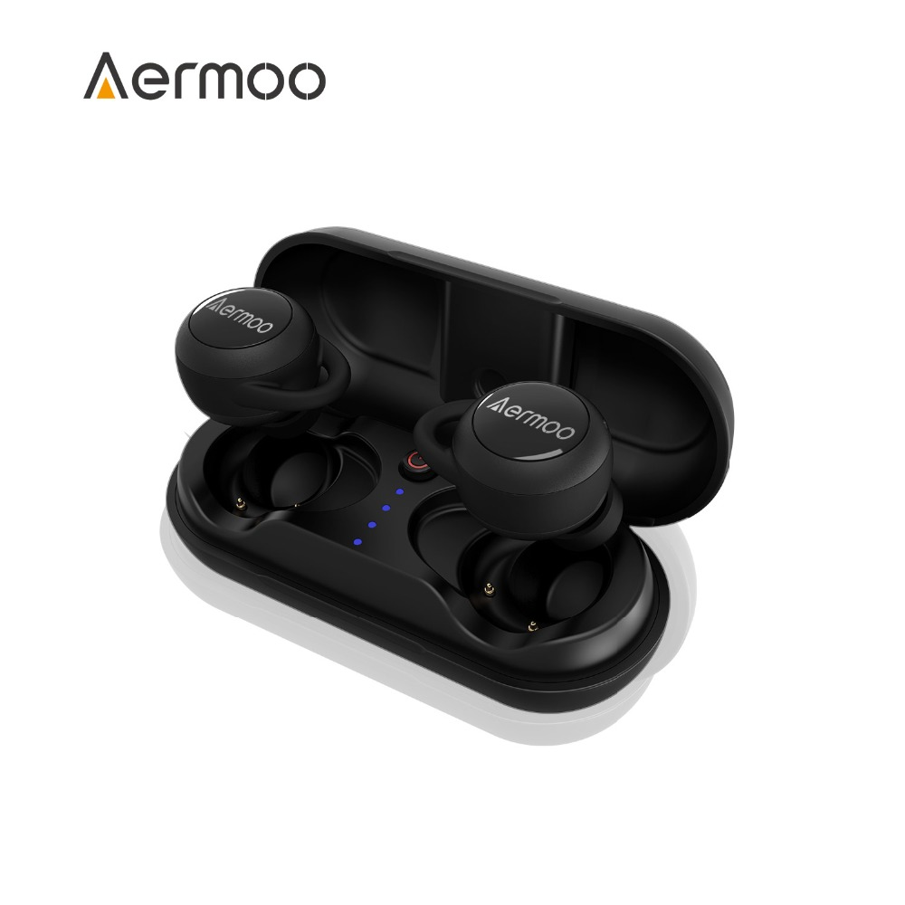 Wireless Headsphones AERMOO B3 Bluetooth Headsphones V5 0 IPX7 Waterproof Earphones TWS Stereo Wireless Earbuds In