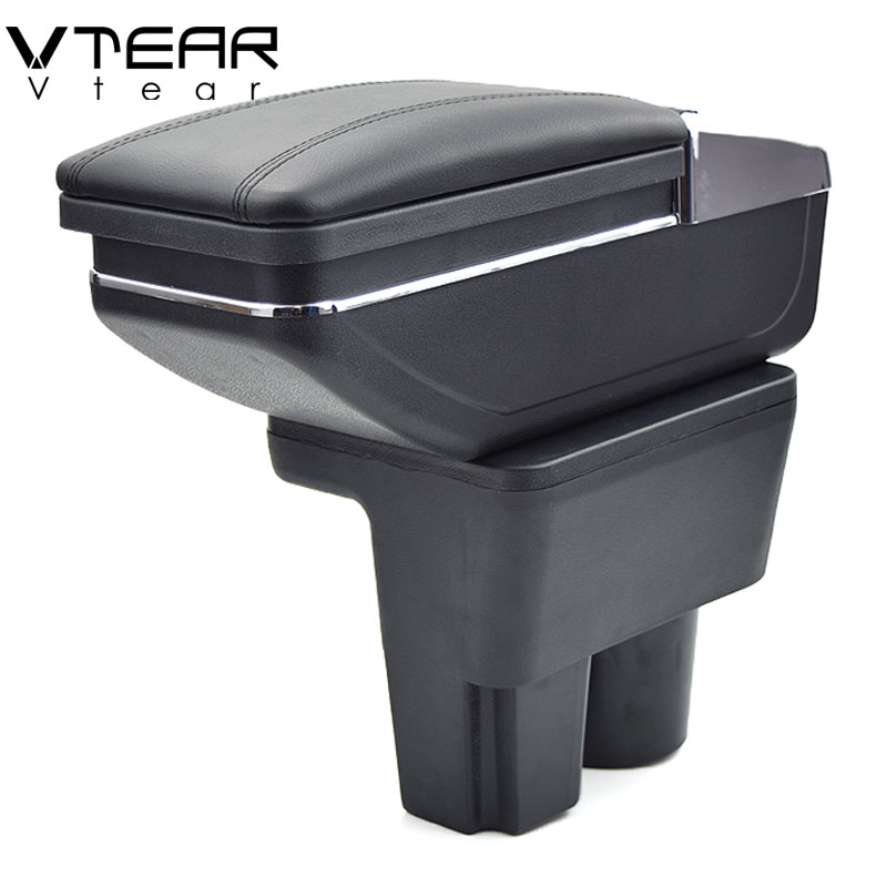 Vtear For Suzuki liana A6 armrest box central Store content box products interior Armrest Storage car