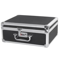 Aluminum Tool case suitcase File box Impact resistant safety case toolbox equipment instrument case with pre cut foam