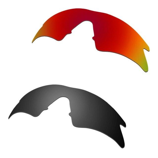 HKUCO para M marco Sweep polarizado lentes rojo y negro 2 pares ...