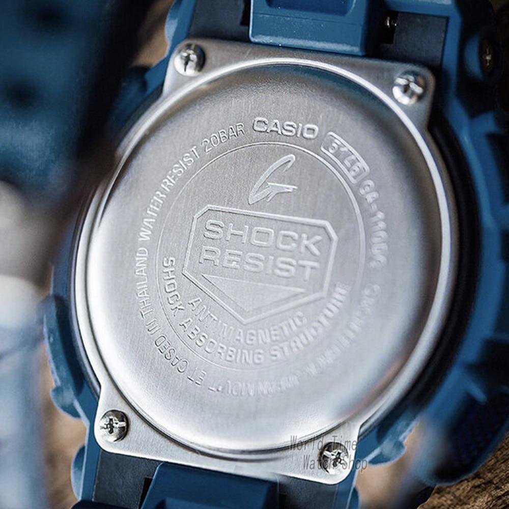 3880dacb8c0 Casio watch g-shock men s quartz sports watch denim blue multi-function waterproof  g shock watch ga-110dc