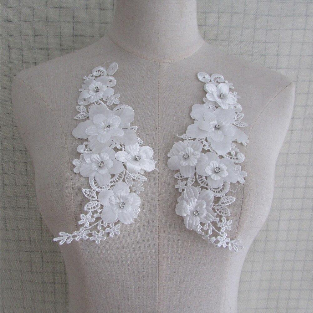 brand new sewing supplies diy costume decorate fine flower venise neckline applique lace collar costume Decorate blouse accessor