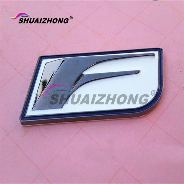 Metal F Sport F Sport Car Styling Refitting Emblem Badge Fender Tail