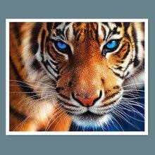 5D full Diamond embroidery tiger diamond cross stitch  diamond painting diy diamond painting animal