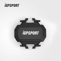 ANT + Bluetooth 4.0 Sensor de Cadencia Inalámbrico Resistente Al Agua IPX7 IGPSPORT MTB Bike Cycling Computer Bicicleta Accesorio C61