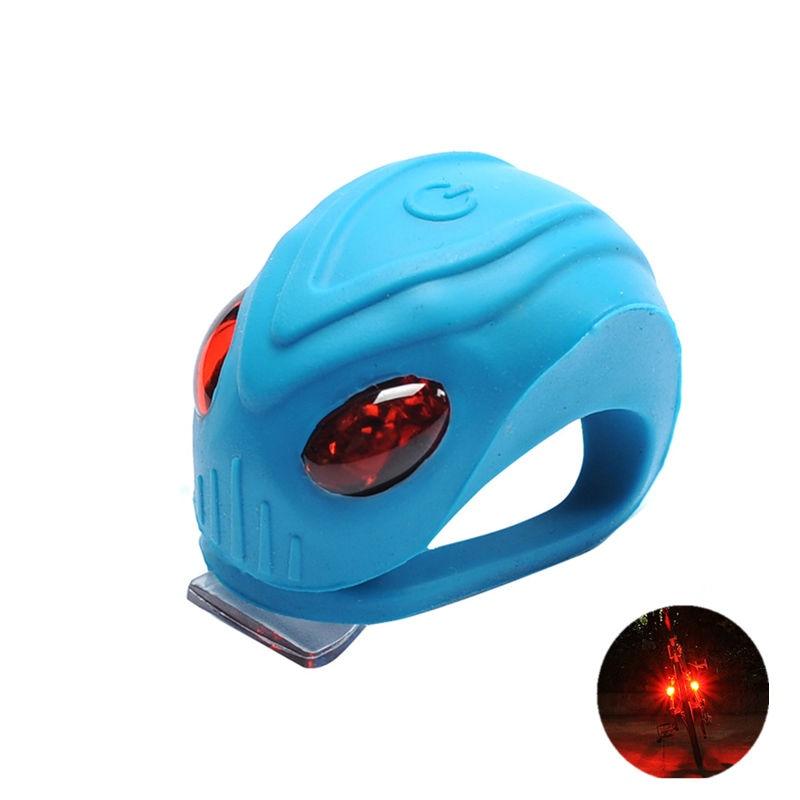 LED bljeskalica Mini bljeskalica 3 načina silicijsko vodootporna - Biciklizam - Foto 2