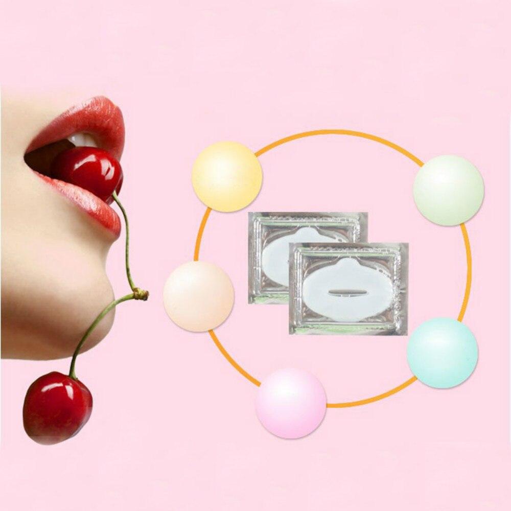 5 шт. Лидер продаж для губ маска Кристалл Коллаген Губы уход Патч Pad губ Smackers Уход за лицом Красота косметический