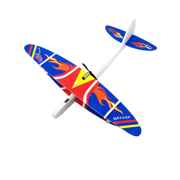 Hand Throw DIY Flying USB Electric Power Motor Glider Planes Foam Aeroplane Party Bag Fillers Kids Children Gift Model Toys Game