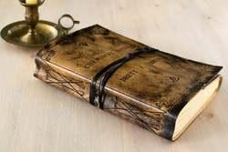 Cuaderno de cuero, cuaderno, cuaderno personalizado