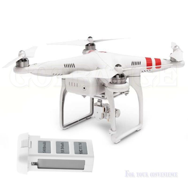 Hot 5400mAh li-po battery dji phantom2 batterie For DJI Phantom 2 Vision +, Quadcopter drone parts 11 1v 5400mah battery for dji phantom 2 vision lcd power display quadcopter