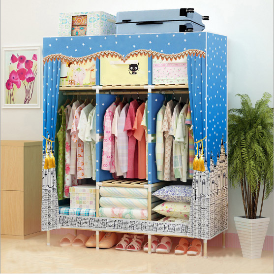 latest wooden wardrobe   length 130cmlatest wooden wardrobe   length 130cm