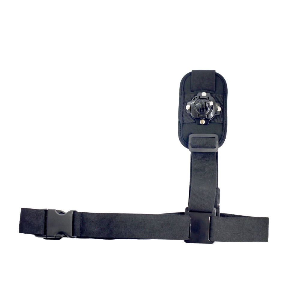360degre adjutable Single Shoulder Strap Mount Chest Harness Belt for GoPro Hero 1 2 3 3+ <font><b>4</b></font> 5 6 <font><b>7</b></font> xiaomi for yi sj4000 <font><b>5000</b></font> 6000 image